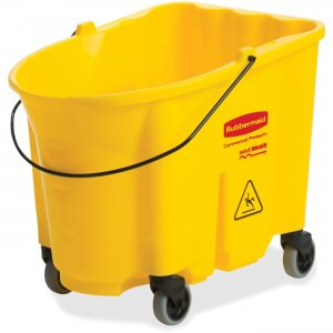 Rubbermaid Commercial 757088YECT 35-qt WaveBrake Mop Bucket