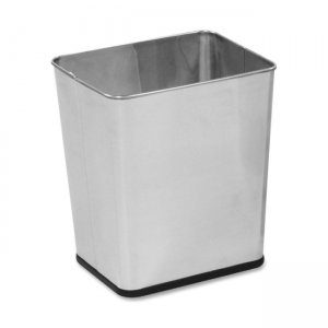 Rubbermaid Commercial WB29RSS Stainless Steel Wastebasket RCPWB29RSS