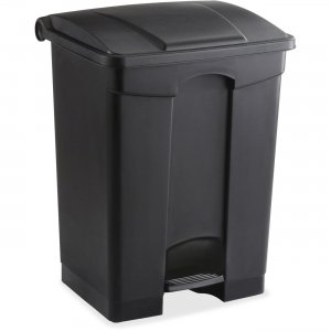Safco 9922BL Plastic Step-on Receptable SAF9922BL
