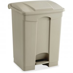 Safco 9922TN Plastic Step-on Receptable SAF9922TN