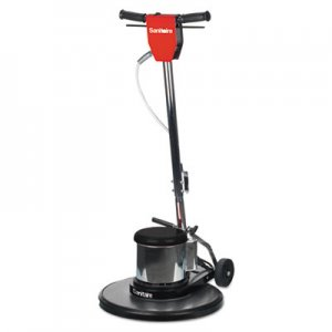 "Sanitaire EURSC6025D SC6025D Commercial Rotary Floor Machine, 1 1/2 HP Motor, 175 RPM, 20"" Pad"