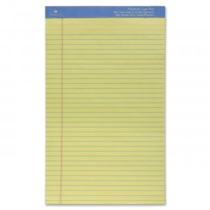Sparco 1014 Premium Grade Perforated Legal Ruled Pad SPR1014