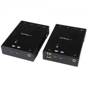 StarTech.com ST121HDBTU HDMI over CAT5 HDBaseT Extender with USB Hub - 295 ft (90m) - Up to 4K