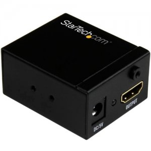 StarTech.com HDBOOST HDMI Signal Booster - HDMI Video Signal Amplifier - 115 ft - 1080p