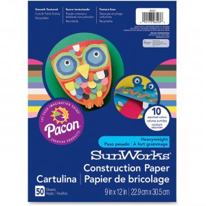 SunWorks 6803 Groundwood Construction Paper PAC6803