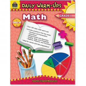 Teacher Created Resources 3959 Daily Warm-Ups: Math, Grade 1