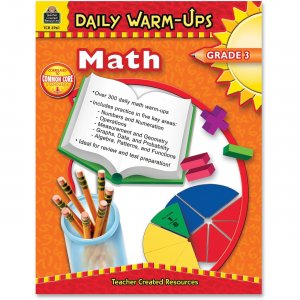 Teacher Created Resources 3961 Daily Warm-Ups: Math, Grade 3