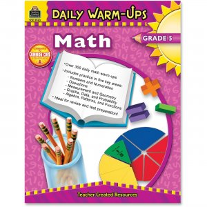 Teacher Created Resources 3963 Daily Warm-Ups: Math, Grade 5