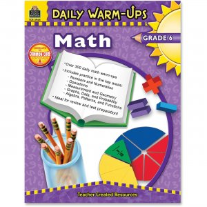 Teacher Created Resources 3964 Daily Warm-Ups: Math, Grade 6