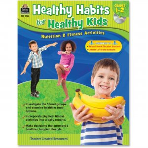 Teacher Created Resources 3988 Healthy Habits for Healthy Kids Grade 1-2