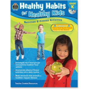 Teacher Created Resources 3987 Healthy Habits for Healthy Kids Grade K