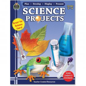 Teacher Created Resources 2221 Plan-Develop-Display-Present Science Projects