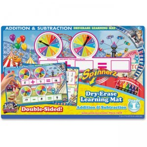 The Board Dudes 99101UA-12 SpinnerZ Dry-erase Learning Mat