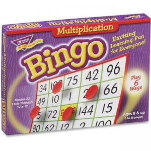 TREND T6135 Multiplication Bingo Learning Game