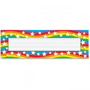 TREND 69026 Star Rainbow Desk Toppers Name Plates