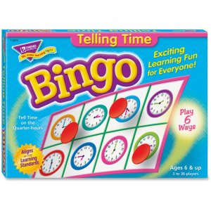 TREND 6072 Telling Time Bingo Game