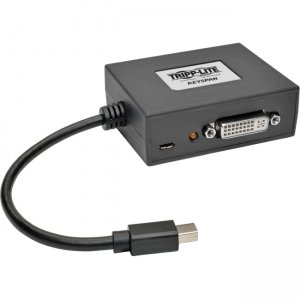 Tripp Lite B155-002-DVI-V2 2-Port Mini DisplayPort 1.2 to DVI MST Hub