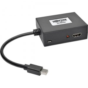 Tripp Lite B155-002-HD-V2 2-Port Mini DisplayPort 1.2 to HDMI MST Hub
