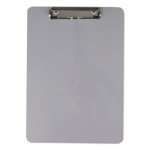 "Genpak UNV40301 Aluminum Clipboard with Low Profile Clip, 1/2"" Capacity, 8 x 11 1/2 Sheets"