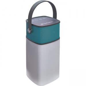 Verbatim 98594 2-in-1 Water Resistant Speaker Lantern - Seaglass