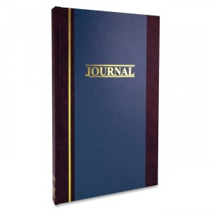 Wilson Jones S300-15-SEL S300 Single Entry Ledger Book WLJS30015SEL