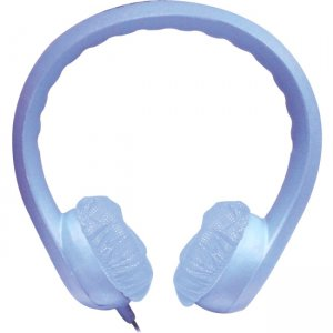 Hamilton Buhl KIDS-BLU Flex Phones Foam Headphones 3.5mm Plug Blue
