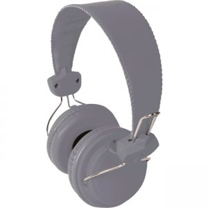 Hamilton Buhl FV-GRY Headset with In Line Microphone Gray