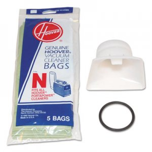 Hoover Commercial HVR4010050N Bag Adapter Kit, White/Black