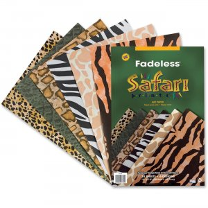 Fadeless 57770 Safari Prints Design Bulletin Board Paper PAC57770