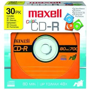Maxell 648451 Designer CD Recordable Media