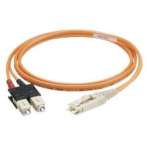 Panduit F6D2-3M2Y Fiber Optic Duplex Patch Cable