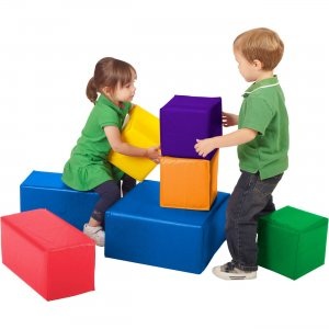Early Childhood Resources ELR-0832 SoftZone 7 Pc. Big Blocks ECR0832