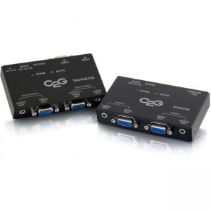 C2G 29221 Short Range VGA+3.5mm Audio over Cat5 Extender Kit