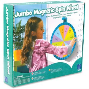 Educational Insights 1769 Jumbo Magnetic Spin Wheel EII1769