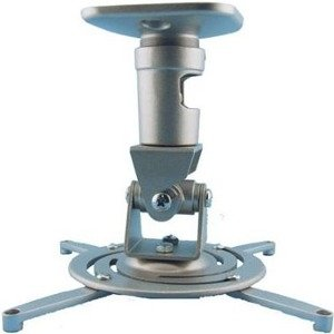Amer Mounts AMRP100S Universal Ceiling Projector Mount. Supports up to 30 lb projectors