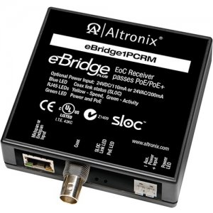 Altronix EBRIDGE1PCRM IP Over Coax Receiver