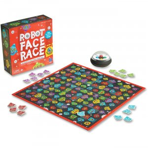 Educational Insights 2889 Robot Face Race Game EII2889