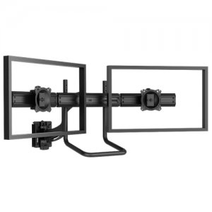Chief K4S210B Kontour K4 2x1 Focal Depth-Adjustable Array, Slat-Wall Mounted