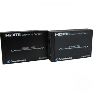 Comprehensive CHE-HDBT200 Pro AV/IT HDBaseT Extender over CAT5e/6/7 up to 230ft-Transmitter & Receiver