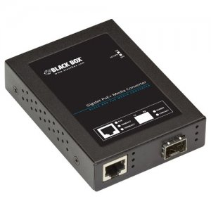 Black Box LPS535A-SFP Gigabit PoE+ PSE Media Converter