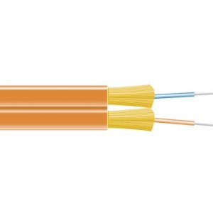 Black Box FOBC55ZPM1OR02F Fiber Optic Network Cable
