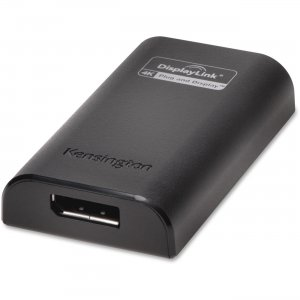 Kensington 33989 VU4000D USB 3.0 to Display Port 4K Video Adapter KMW33989