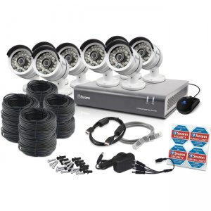 Swann SWDVK-846008-US DVR8-4600 - 8 Channel 1080p Digital Video Recorder & 8 x PRO-A855 Cameras