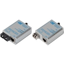 Omnitron Systems 1602-0-3 S/FXT Fast Ethernet Bridging Media Converter