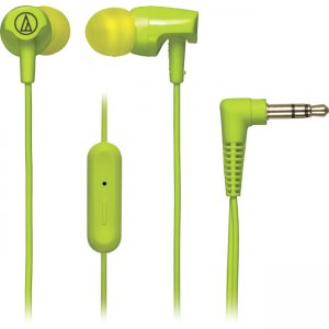 Audio-Technica ATH-CLR100ISLG SonicFuel In-ear Headphones with In-line Mic & Control