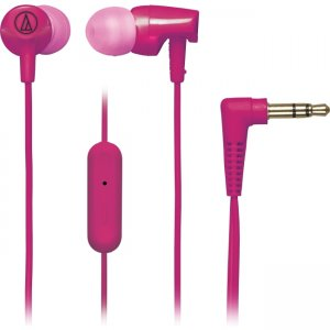 Audio-Technica ATH-CLR100ISPK SonicFuel In-ear Headphones with In-line Mic & Control