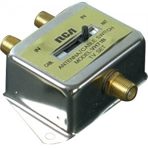 RCA VH71R 2 Way A/B Coaxial Cable Switch