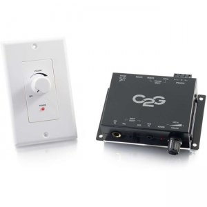 C2G 40914 Compact Amplifier With External Volume Control