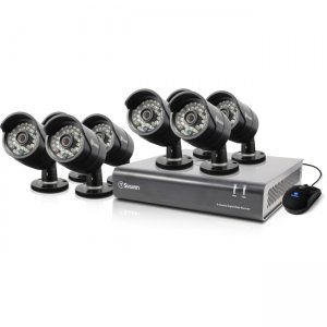 Swann SWDVK-844008-US DVR8-4400 - 8 Channel 720p Digital Video Recorder & 8 x PRO-A850 Cameras