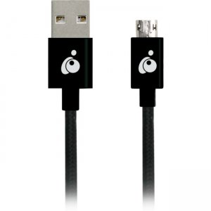Iogear GAMU01 Charge & Sync Flip Pro, Reversible USB to Reversible Micro USB Cable (3.3ft/1m)